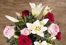 Cóctel de Amor: Rosas y Lirios floraqueen.es